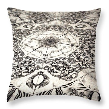 Grillo 2 Throw Pillow
