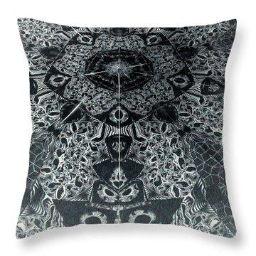 Grillo Inverse Throw Pillow