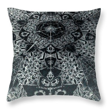Grillo Inverse Throw Pillow