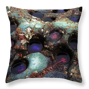 Grinding Rock Throw Pillow