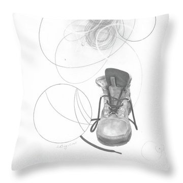 Ground Work No. 1 Throw Pillow