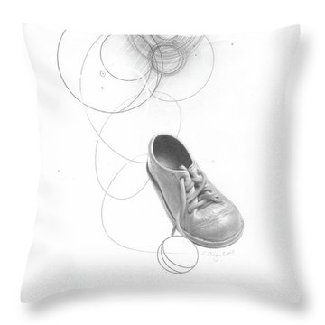 Ground Work No. 3 Throw Pillow