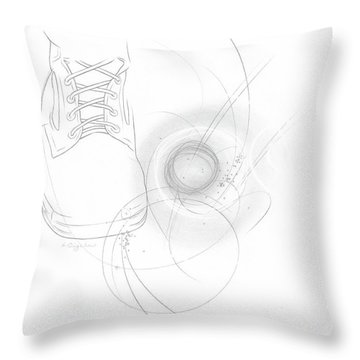 Ground Work No. 5 Throw Pillow