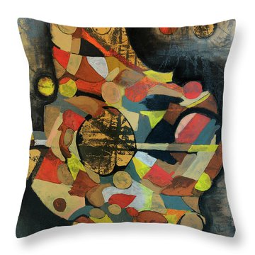 Grounded In Art Throw Pillow