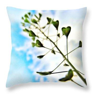 Growing Love Throw Pillow