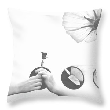 Growing Together Throw Pillow