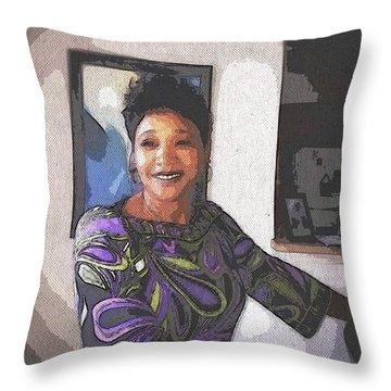 GSF Throw Pillow