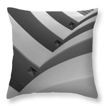 Guggenheim_museum Throw Pillow
