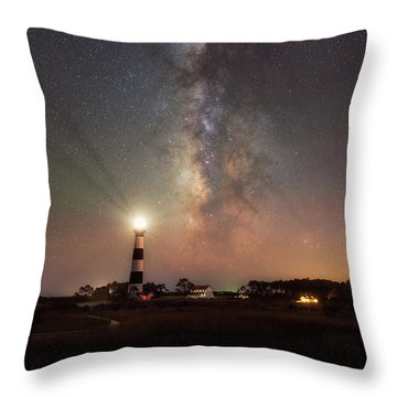 Throw Pillow featuring the photograph Guidance by Russell Pugh