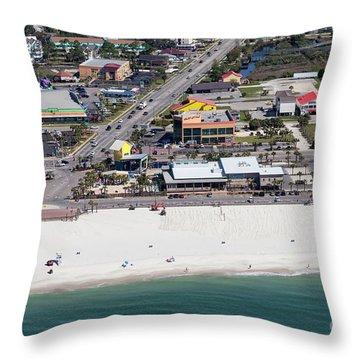Gulf Shores Beach 7139 Throw Pillow