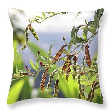Gungo Peas Throw Pillow