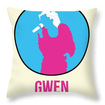 Gwen Poster II Throw Pillow