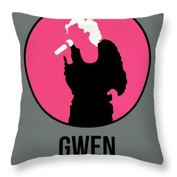Gwen Stefani Throw Pillow