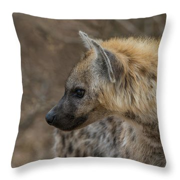 Throw Pillow featuring the photograph H1 by Joshua Able's Wildlife