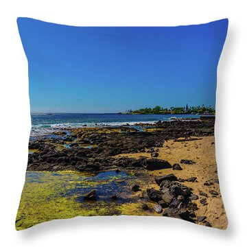 Hale Halawai Tide Pool Throw Pillow
