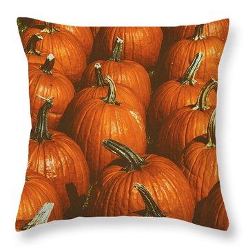 Halloween Harvest - 2 Throw Pillow