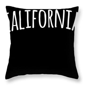 Hand California Throw Pillow