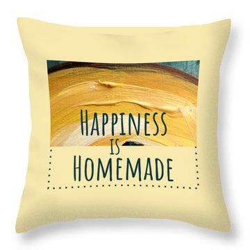 Happiness Is Homemade #2 Throw Pillow