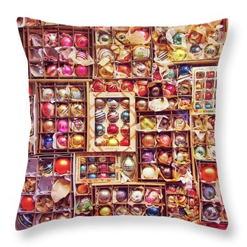 Happy Christmas Throw Pillow