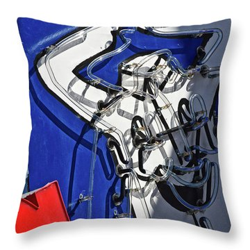 Throw Pillow featuring the photograph Happy, Happy, Joy, Joy by Skip Hunt