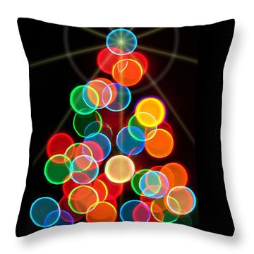 Happy Holidays - 2015-r Throw Pillow