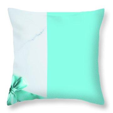 Hello Holiday V Throw Pillow