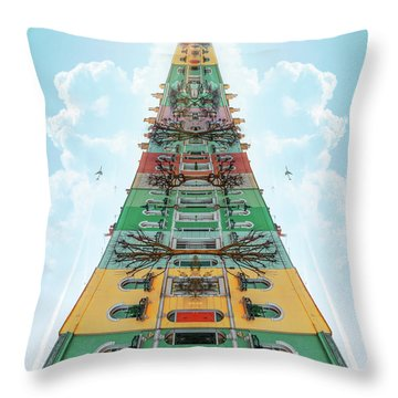 Happy House Dreams Throw Pillow