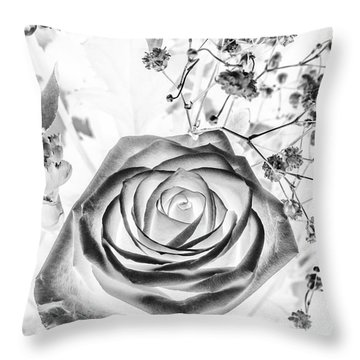 Harmonics Inverted Throw Pillow