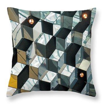 Harpa - Reykjavik Iceland Throw Pillow