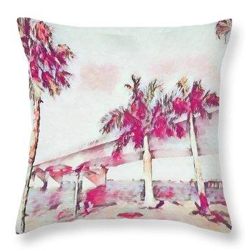 Harts Landing Sarasota Throw Pillow