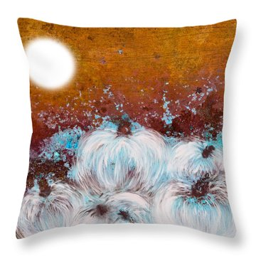 Harvest Pumpkin Throw Pillow