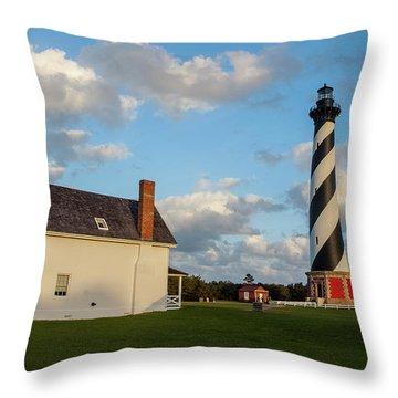 Hatteras Lighthouse No. 2 Throw Pillow