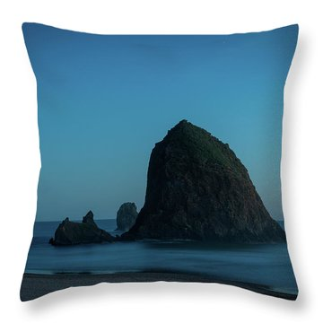 Haystack And Needles Throw Pillow