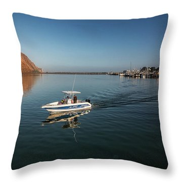Heading Out Early Throw Pillow