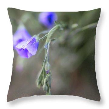 Hear The Prairie Throw Pillow
