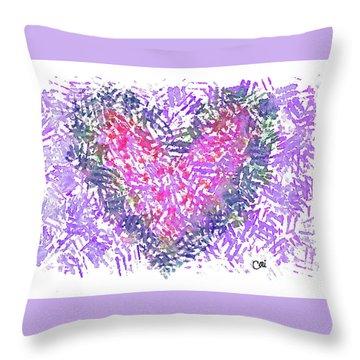 Heart 1007 Throw Pillow