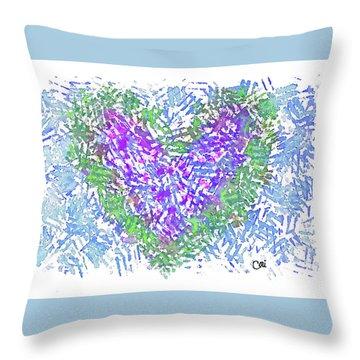 Heart 1008 Throw Pillow