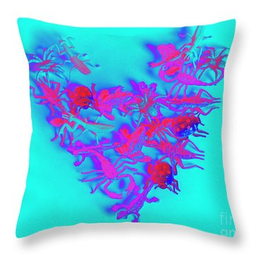 Heart Of The Wild Throw Pillow