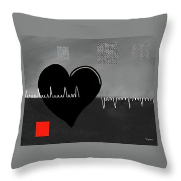 Heartbroken Throw Pillow