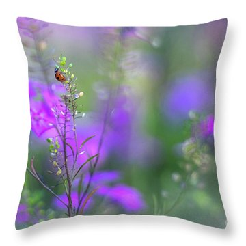 Heartsong In The Meadow Throw Pillow