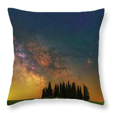 Heaven On Earth Throw Pillow