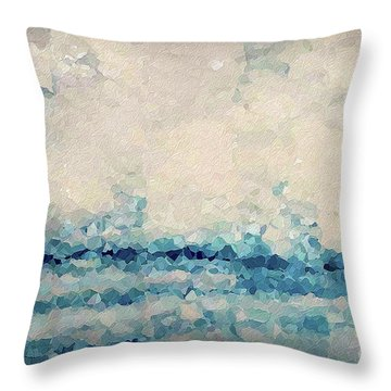 Hebrews 4 16. Come Boldly Throw Pillow
