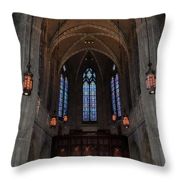 Throw Pillow featuring the photograph Heinz Memorial Chapel by Guy Whiteley