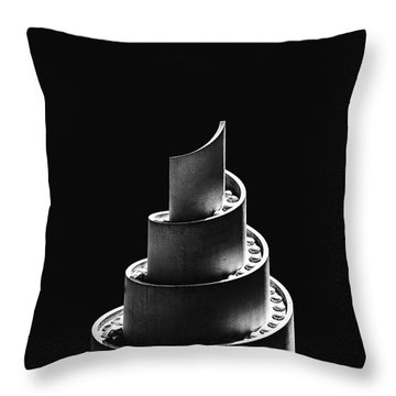 Helicity Throw Pillow