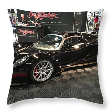Hennessey Venom Gt Spyder Throw Pillow