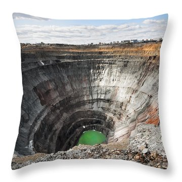 Mineral Throw Pillows