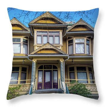 Heritage House Throw Pillow