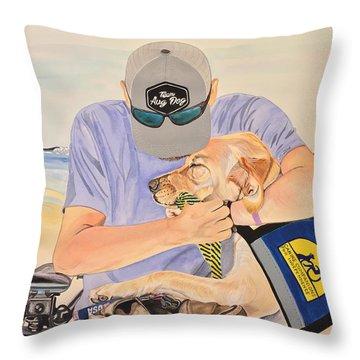 Hero's Hero Throw Pillow
