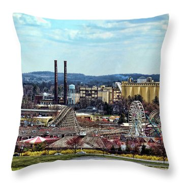 Hershey Pa 2006 Throw Pillow