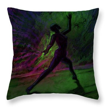 Hidden Dance Throw Pillow